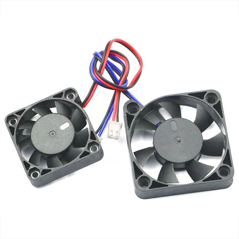 电脑CPU笔记本显卡电瓶电动车散热风扇12V 4010 5012 4CM5CM静音