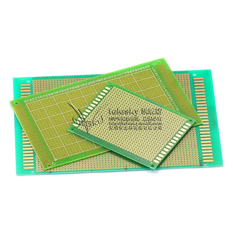 万能板万用板电路板洞洞板面包PCB线路板10*15cm实验板焊接9*15