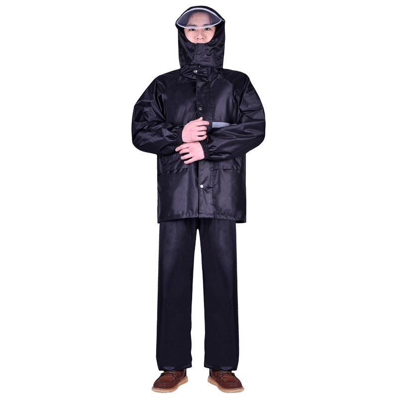 雨衣雨裤套装防暴雨分体长款全身防水外卖骑行加厚男女电动车雨披