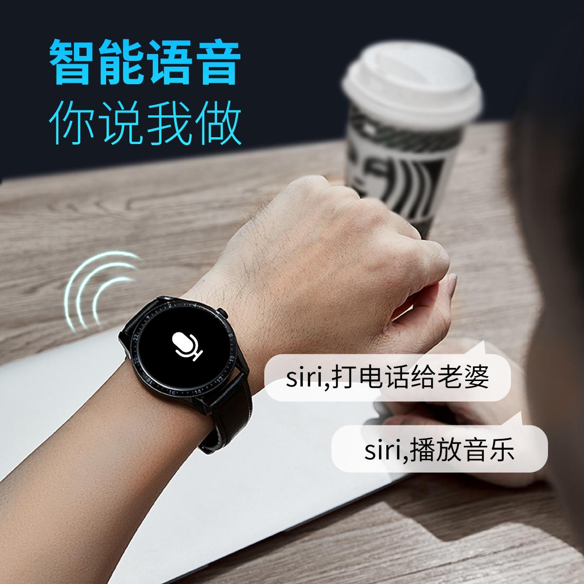 vivo 机械潮流男学生电子表 智能手表男蓝牙可通话适用华为 小米 oppo