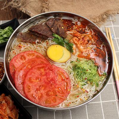 5袋装朝鲜冷面 正宗东北大妈韩式风味真空烤冷面延吉特产速食小吃