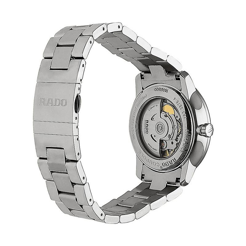 瑞士正品雷达手表男RADO晶璨系列机械腕表R22876013全国联保