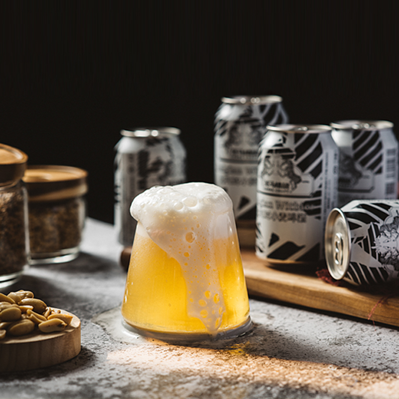 330mlx12 罐装 斑马精酿比利时风味小麦啤酒