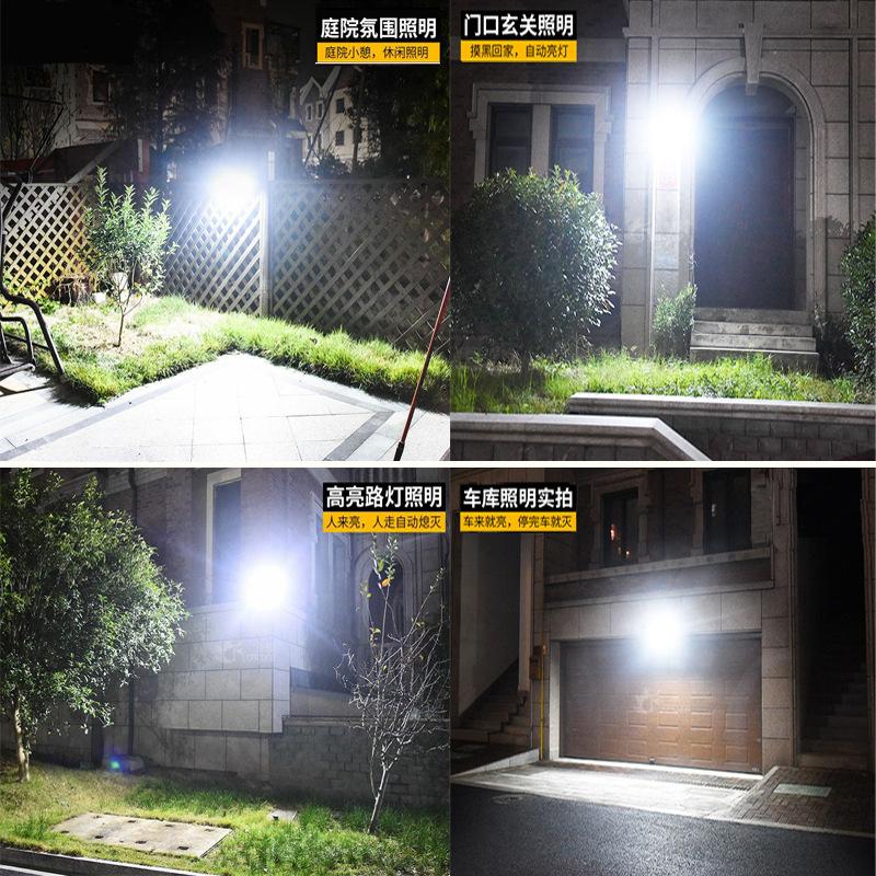 太阳能灯户外庭院灯家用照明室内外感应壁灯新农村路灯天黑自动亮