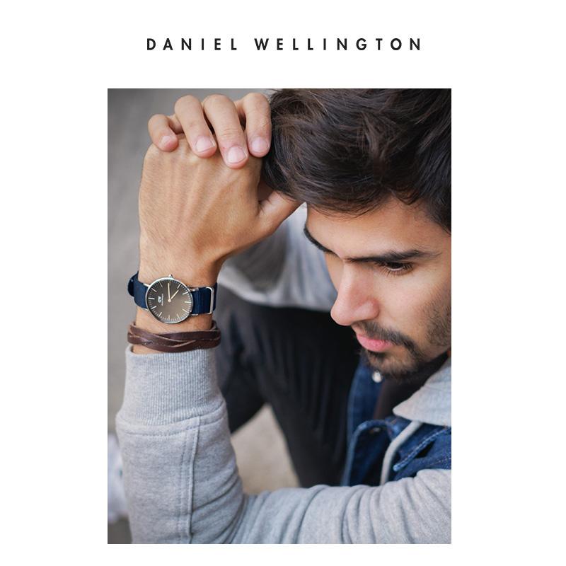 大表盘商务丹尼尔惠灵顿 40mm 手表男学生石英表男 dw 折秒杀 5 dw 40mm dw 折秒杀  5