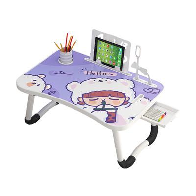 床上书桌电脑桌飘窗学生宿舍可折叠小型儿童可爱卡通懒人学习桌子