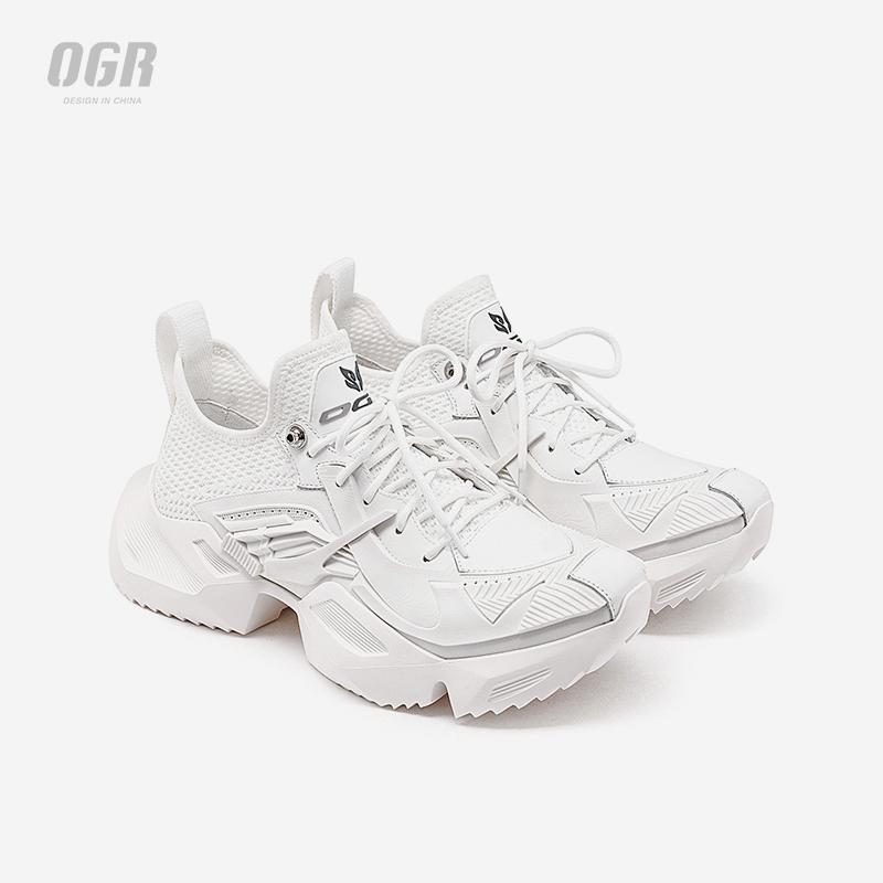 经典系列机甲鞋增高运动鞋子男女潮四季款老爹鞋设计师潮牌 OGR