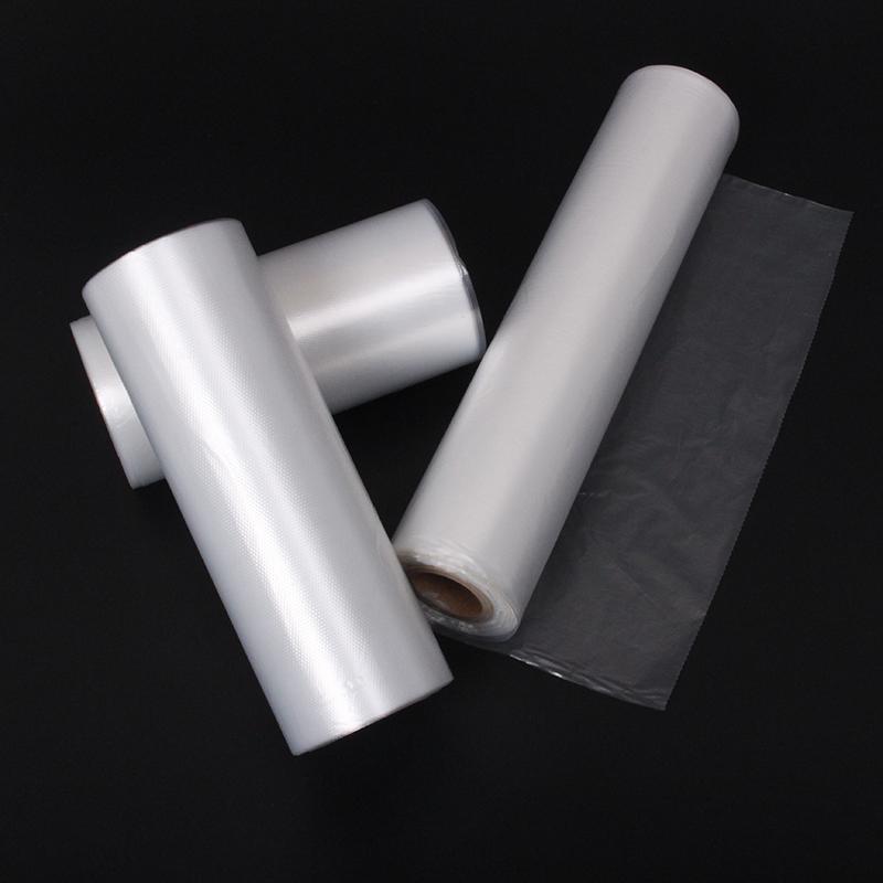 家用保鲜袋加厚超市连卷袋一次性PE食品袋透明塑料袋大中小号包邮