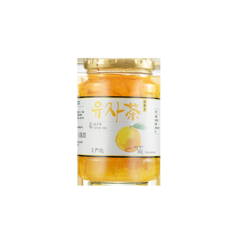 网易严选 韩国进口蜂蜜柚子茶 560g罐装