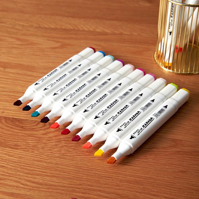 马克笔单支自选肤色黑色白色肉色红色0号单只单买单色学习用品