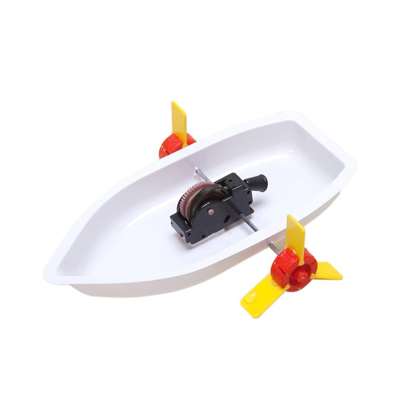 科技小制作玩具船材料 儿童科学实验小学生物理小发明手工diy制作