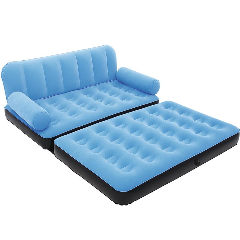 Bestway懒人沙发双人小户型卧室充气沙发椅简约简易榻榻米折叠床 - 图1
