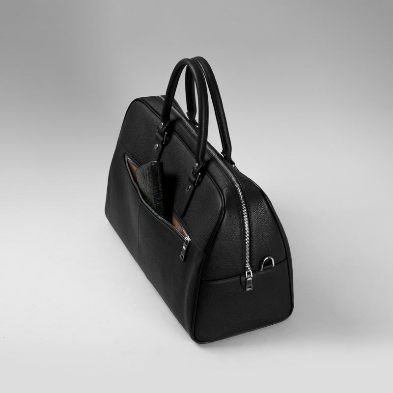 真皮旅行包男士手提包大容量商务短途出差行李包头层牛皮登机男包