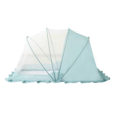 婴儿床蚊帐罩新生儿童bb防蚊罩无底可折叠小孩蒙古包宝宝蚊帐通用