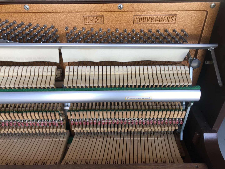演奏考级大人初学复古 u3 118 U121 韩国原装进口二手钢琴三益英昌