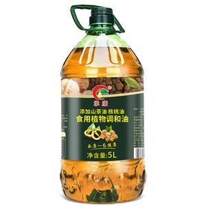 5L承康山茶亚麻籽油植物调和油