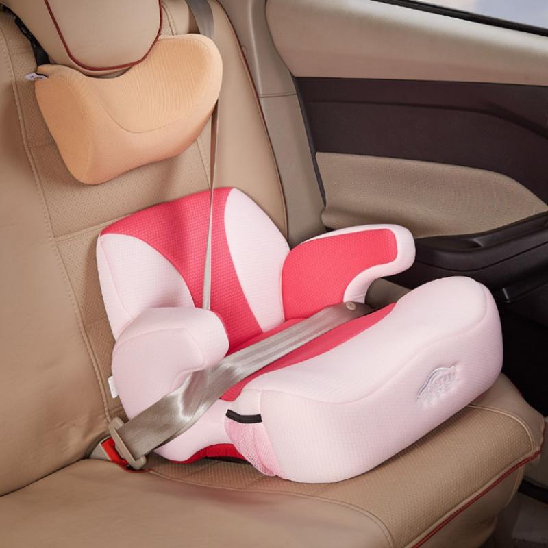 汽车用儿童安全座椅宝宝增高坐垫3-12岁isofix硬接口车载简易便携