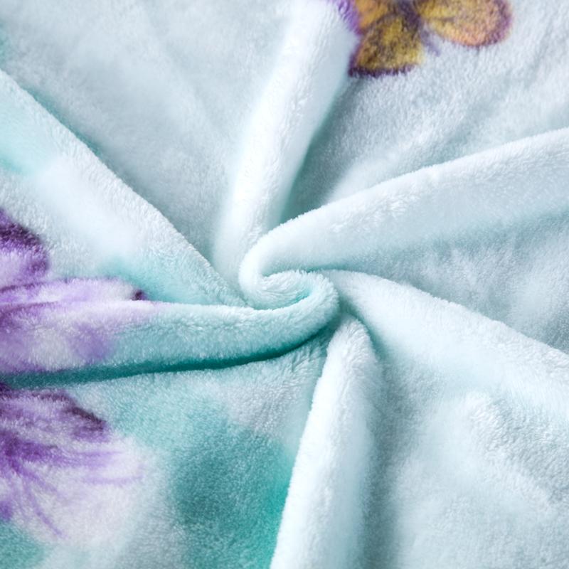 毛毯被子加厚冬季单双人珊瑚绒毯女办公室毛毯沙发被子床单小毯子