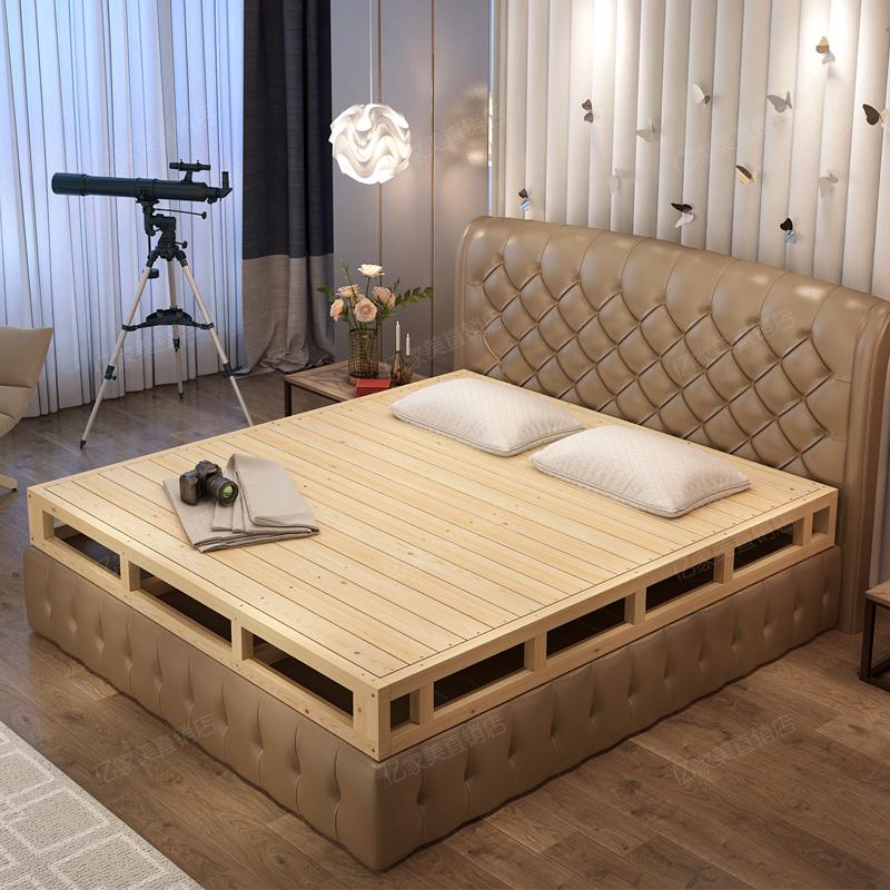 米硬板床垫护腰床板地台床 1.8 床架子排骨架木板床垫实木 1.5 榻榻米