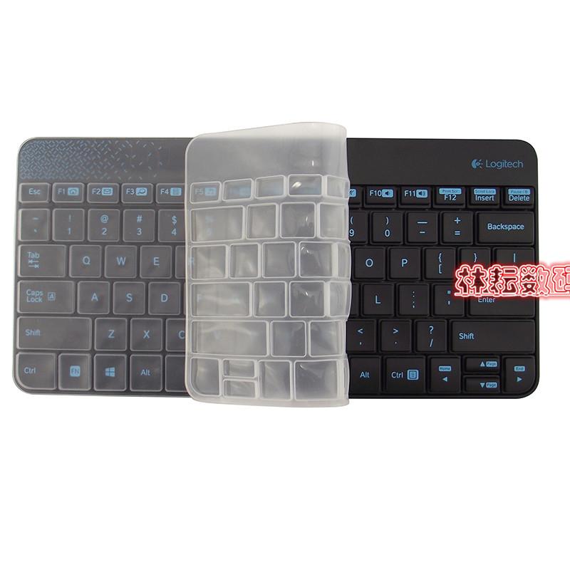 罗技MK240 K240 MK245 Nano台式机无线键盘保护贴膜配件防尘罩套