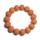 矮桩凤羽猴头核桃文玩雕刻正圆橄榄核光珠菩提拉丝土豪佛珠手串 mini 4