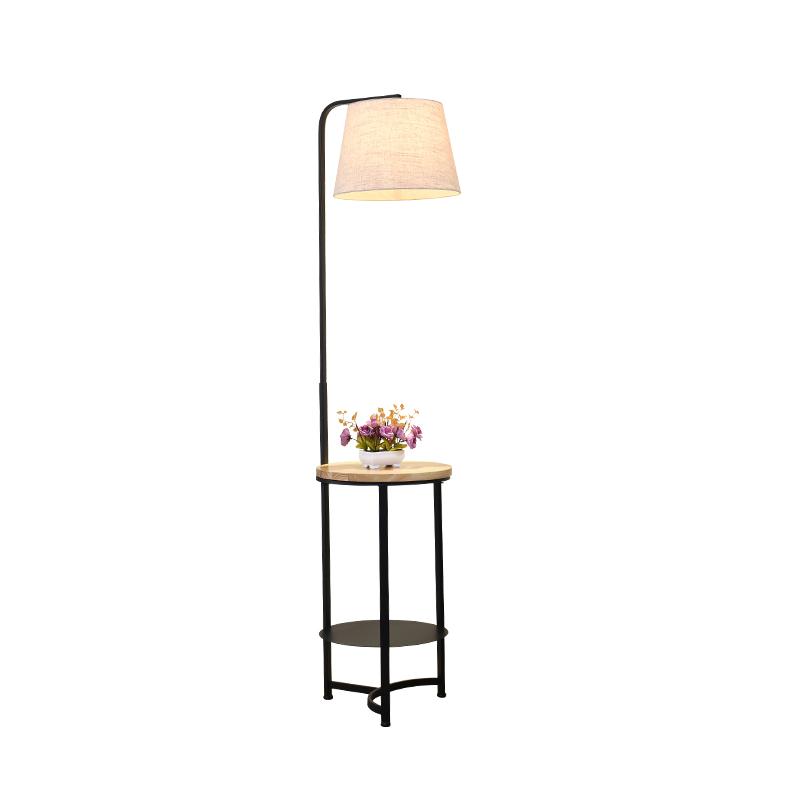 北欧茶几卧室落地灯客厅立地式台灯简约现代创意个姓沙发布艺灯具