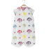 Baby sleeping bag spring and autumn thin cotton gauze baby split legs newborn children summer air-conditioned room kick-proof quilt four seasons