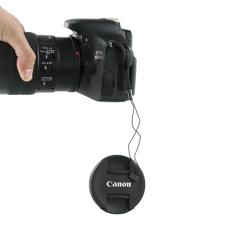JJC 镜头盖防丢绳 防掉绳 镜头盖绳粘贴 佳能尼康索尼奥林巴斯松下富士单反微单相机