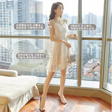 Strap mini dress skirt women's banquet temperament 2020 new bridesmaid dress can usually wear a small summer
