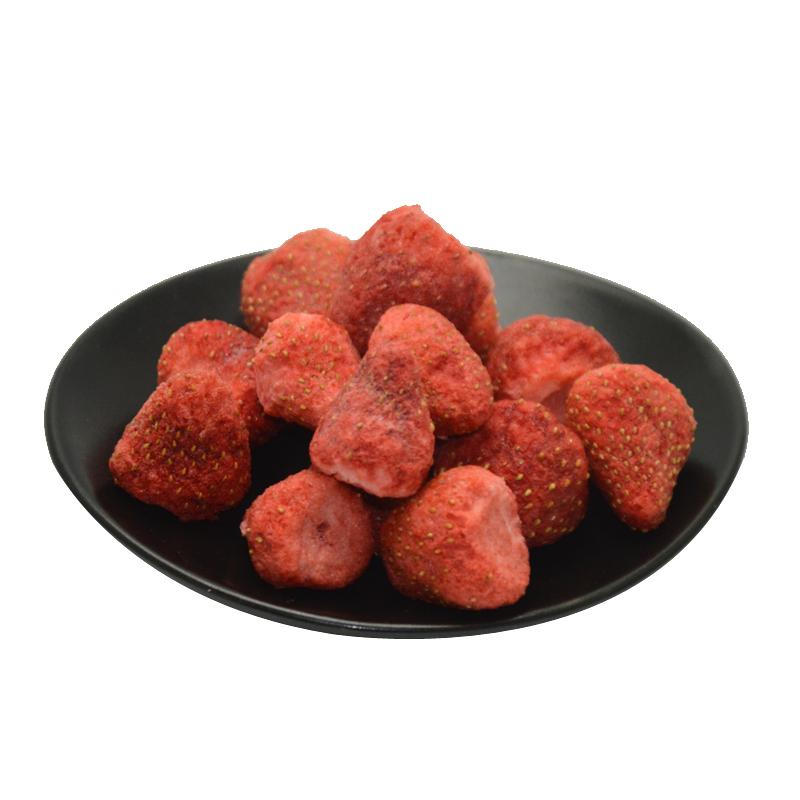 冻干草莓干草莓脆片低0无油添加脱水水果干卡热量脂肪零食果蔬干