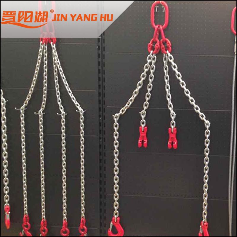国标80级起重锰钢链条吊链6-32毫米铁链手动葫芦链条配件索具