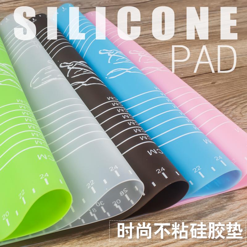 烘焙硅胶垫 揉面垫 带刻度耐高温擀面垫不沾防滑垫 加厚家用
