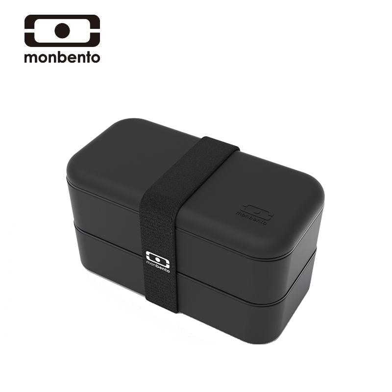 法国monbento饭盒便当盒微波炉保温分隔型上班族日式健身减脂餐盒