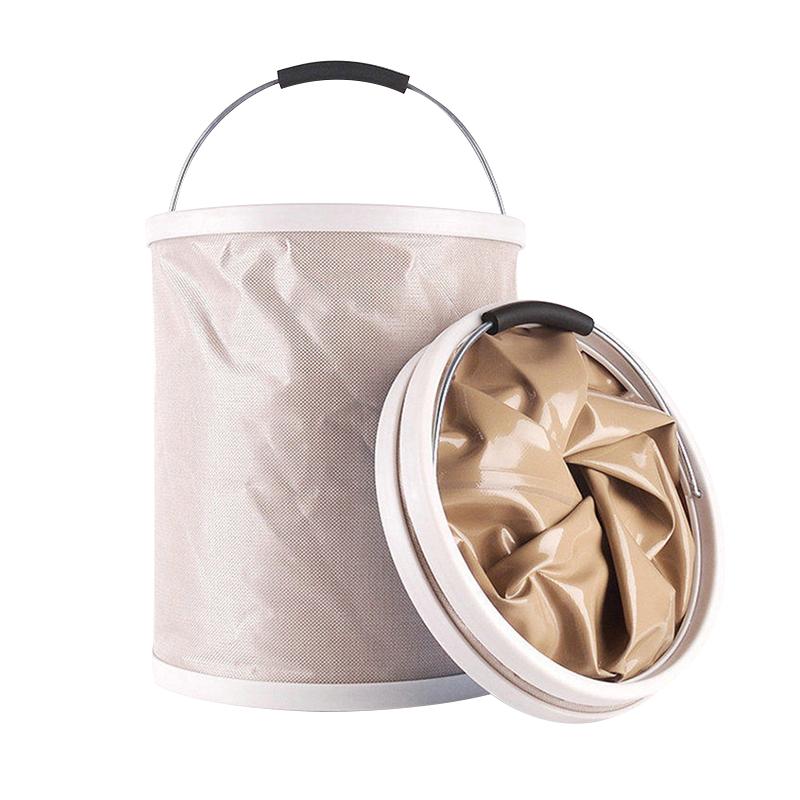 汽车用大号折叠洗车水桶户外钓鱼多功能便携折叠伸缩水桶加厚20L