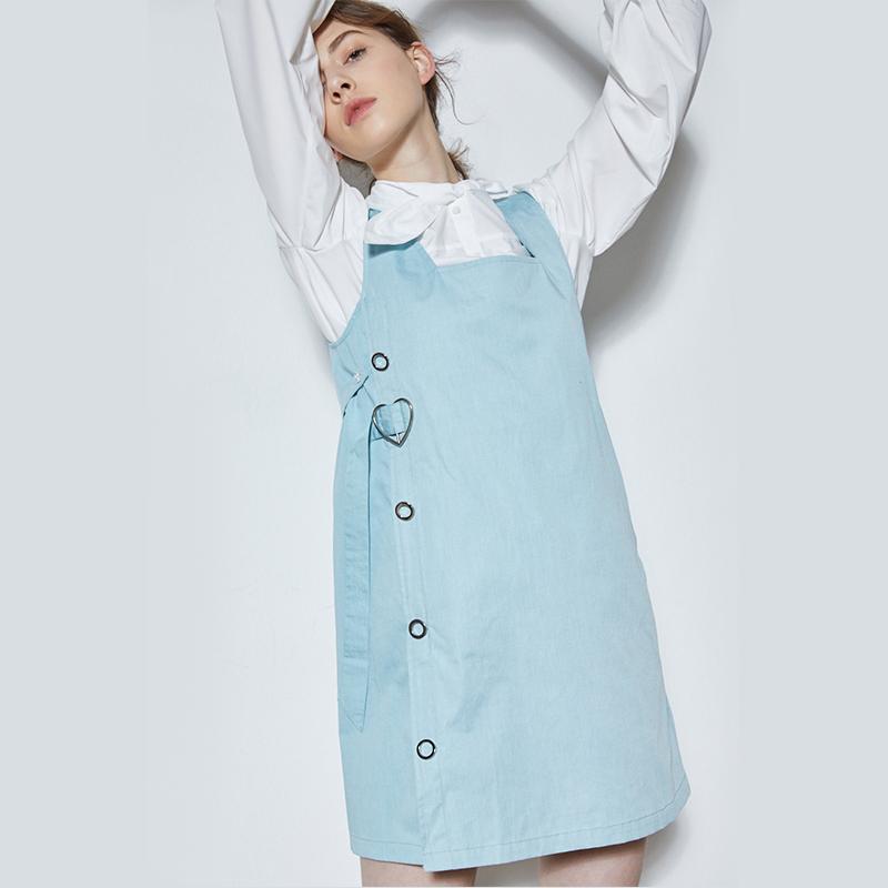 嫚熙防辐射服孕妇装正品孕妇防辐射衣服金属纤维肚兜围裙连衣裙