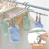 Travel foldable clothes hangers go out to the hotel to prepare windproof drying racks, portable finishing clothes with clips, drying racks