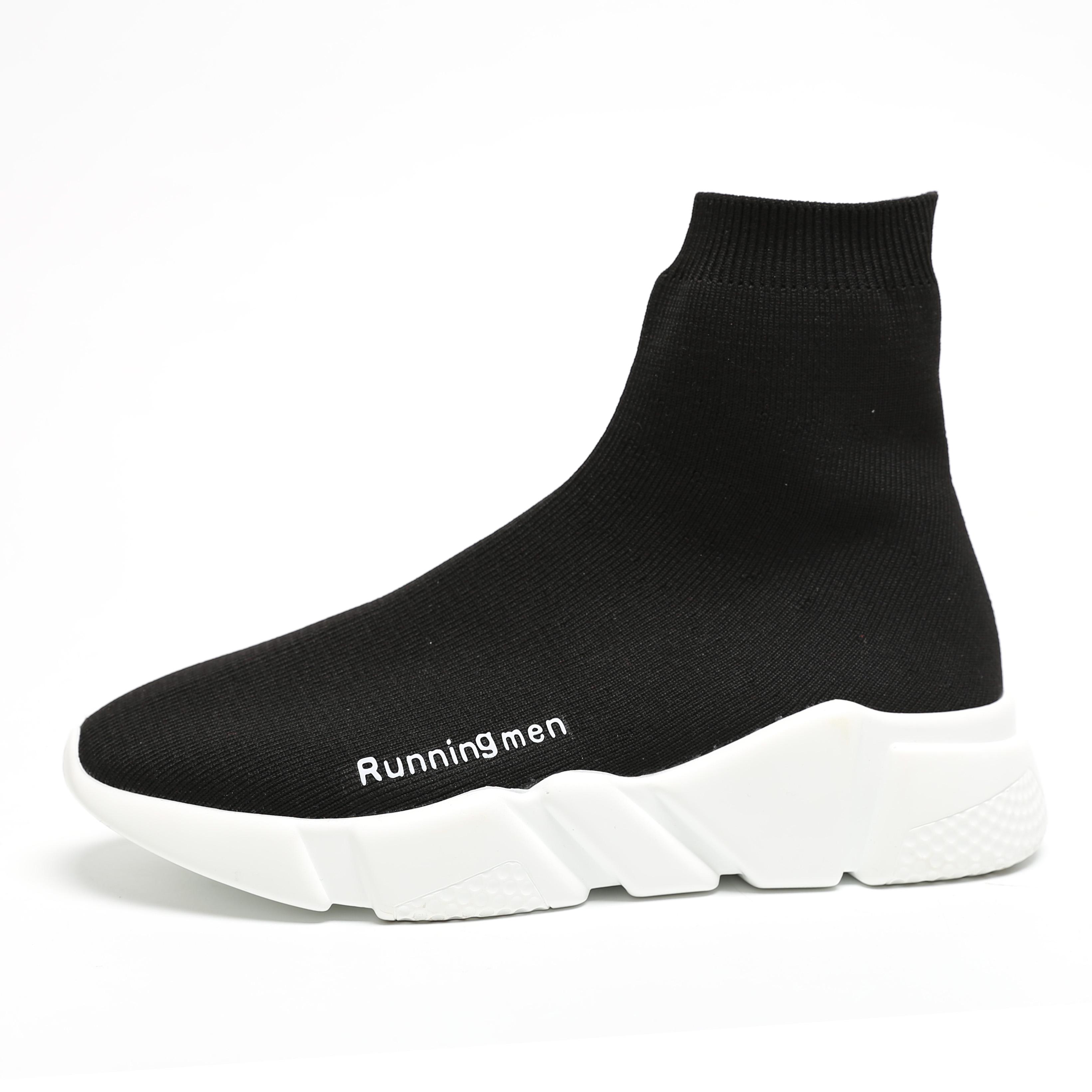 唐嫣同款鞋 袜子鞋 男鞋运动鞋跑步鞋袜子鞋 女情侣款增高厚底潮