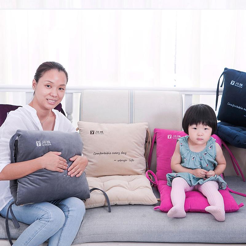 大号坐垫靠垫一体加厚防滑椅垫办公垫子餐椅垫学生椅子座垫女冬季
