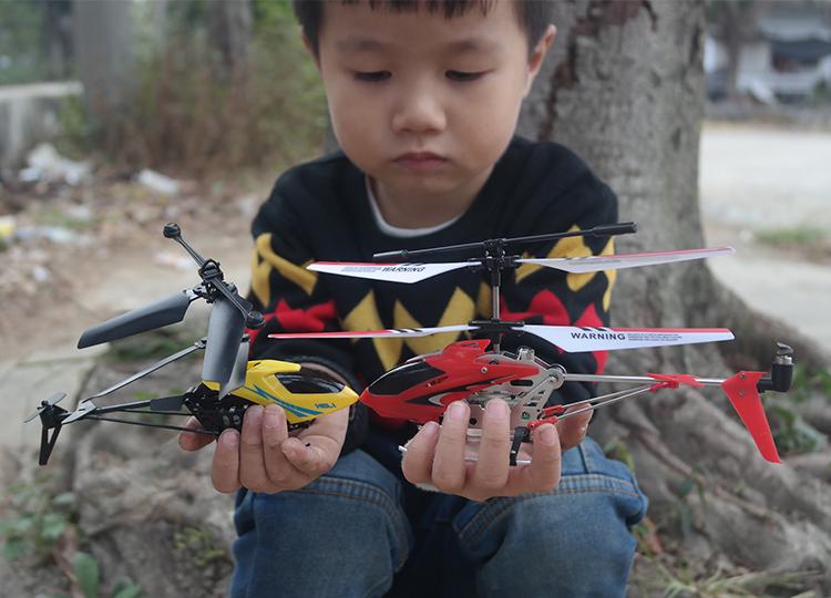 耐摔合金遥控飞机3.5通直升飞机充电动航模型男孩儿童遥控玩具