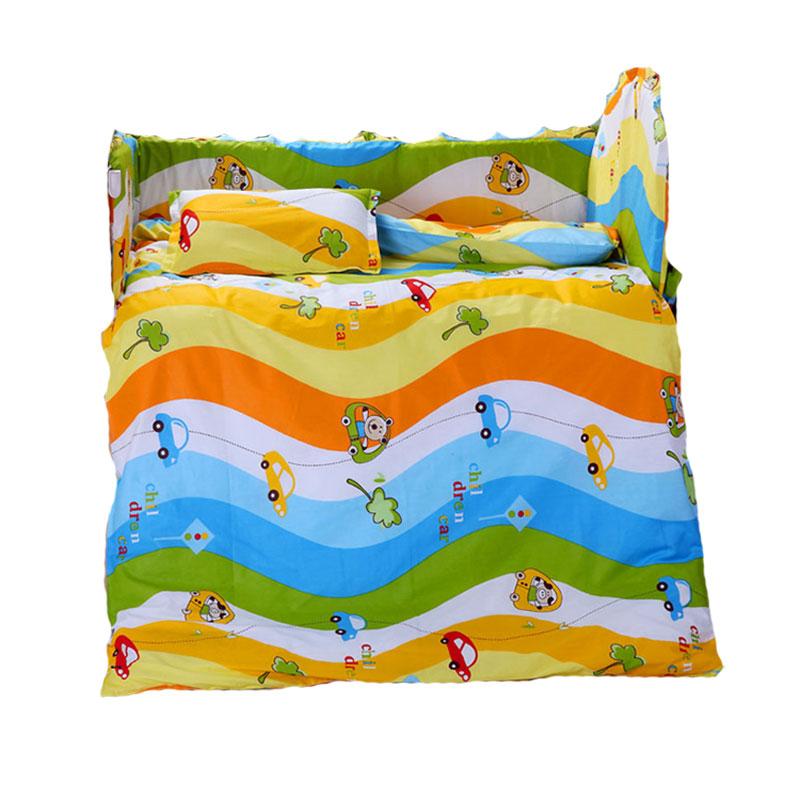 纯棉儿童被子全棉被套卡通幼儿园被午睡棉被褥幼儿被罩含芯可拆卸