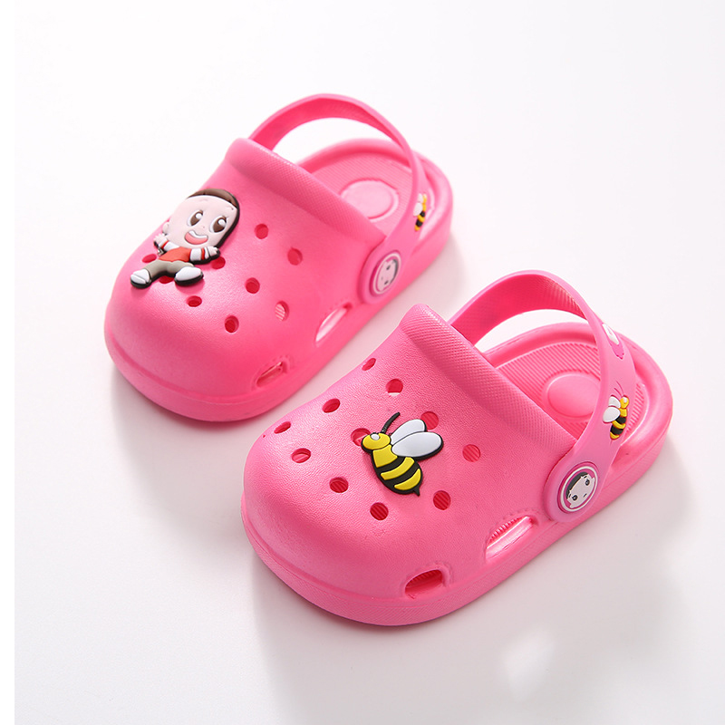 hole shoes children baby slippers