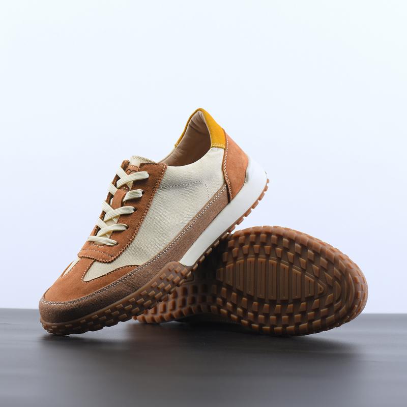 法国CCE真皮男鞋复古系带舒适休闲时尚橡胶软底耐磨防滑潮鞋F2148