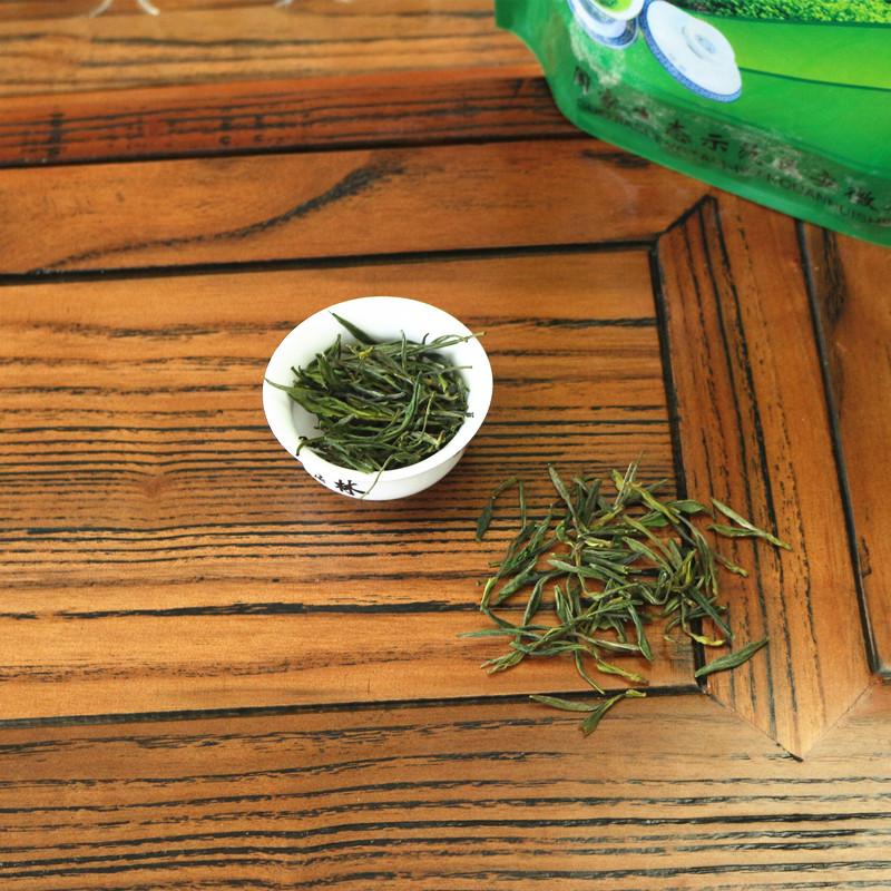 包邮 500g 新茶金寨野生茶原生态绿茶高山野茶茶叶农家自产一级 2018