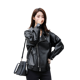 PU leather jacket 2020 new spring, autumn and winter casual loose Korean student locomotive short leather jacket ladies