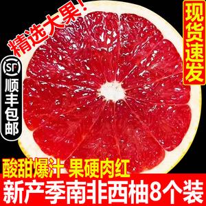 新产季南非西柚红心柚子大果孕妇当季进口奶茶商用轻食水果新鲜5