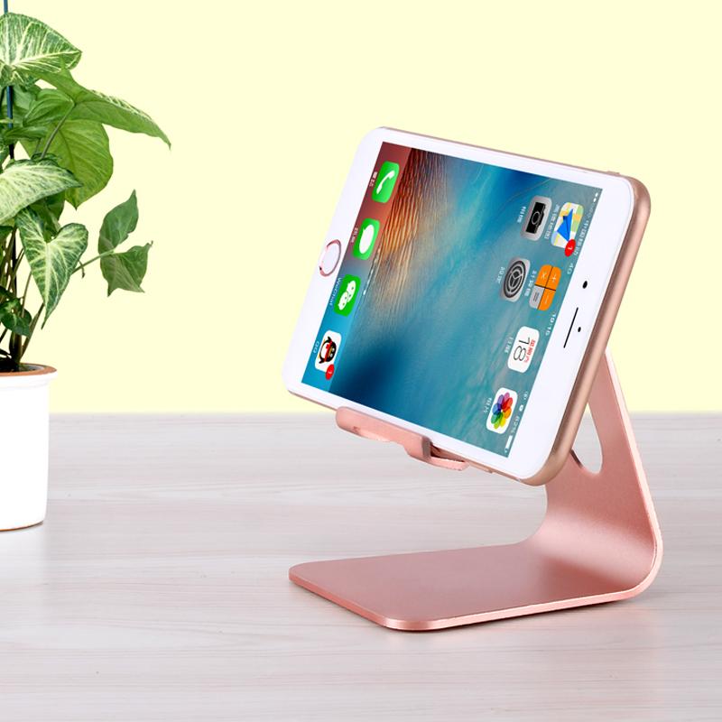 铝合金手机桌面属支架ipad平板电脑苹果iphone/x/8/7/6S通用懒人可调节直播支撑mini简约创意快手架子