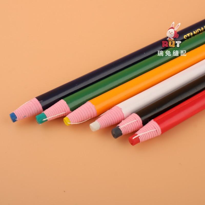 彩色拉线划粉笔 免削划笔 DIY制衣缝纫拉线制皮革专用笔 服装笔