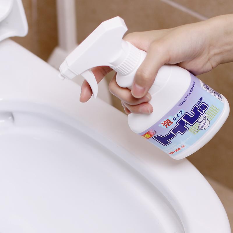 日本进口厕所马桶清洁剂坐便器除臭剂卫生间强力喷雾洗马桶液