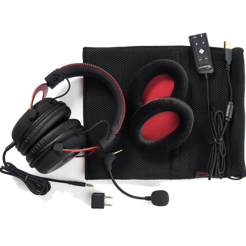 声道 7.1 声卡 USB 吃鸡游戏耳机 2 飓风 二代 II cloud HYPERX 金士顿