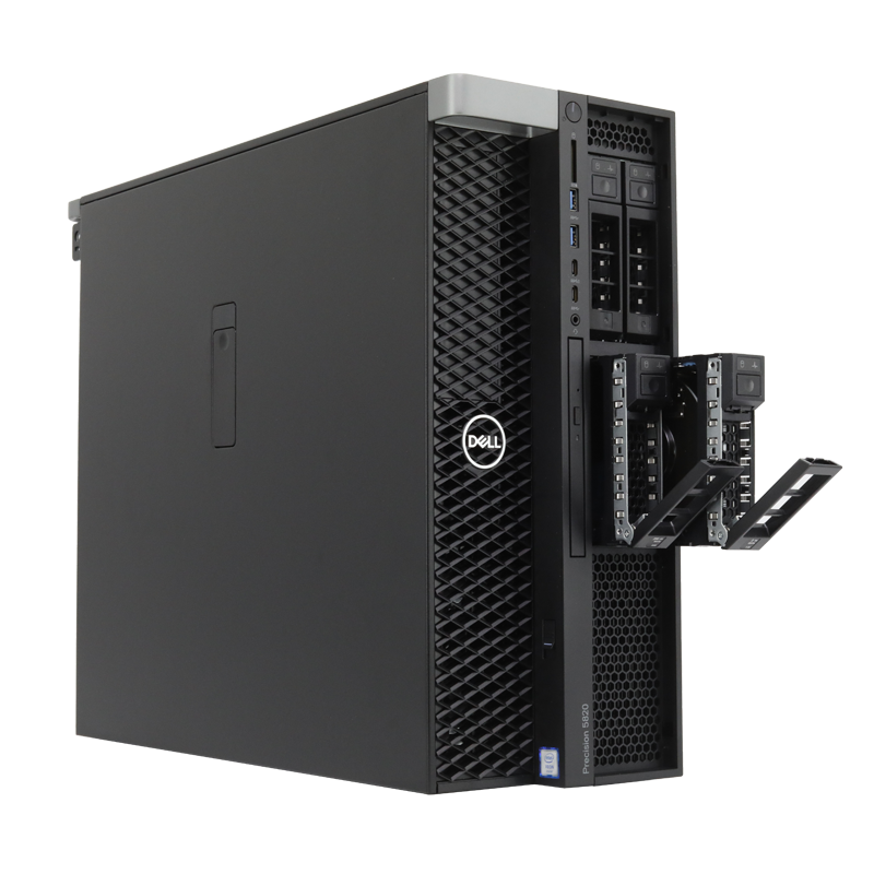 DELL/戴尔 T5820图形工作站至强W2123渲染仿真台式电脑设计主机